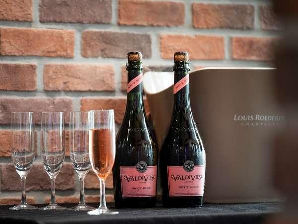 【スパークリングワイン】朝食から優雅にスパークリングワインをお楽しみください♪