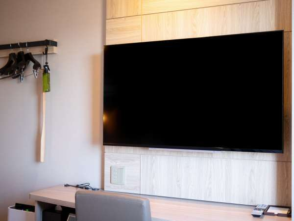 32型液晶テレビ。ルームシアター画面でSHオリジナルヒーリング音楽を聴いて熟睡♪Zzz