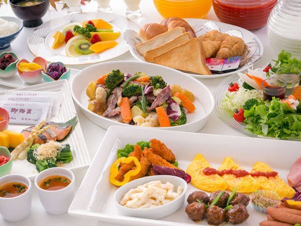 当ホテルは、お客様の大切な『はじまりの朝』を応援します!【お腹120%満足★朝食バイキング】