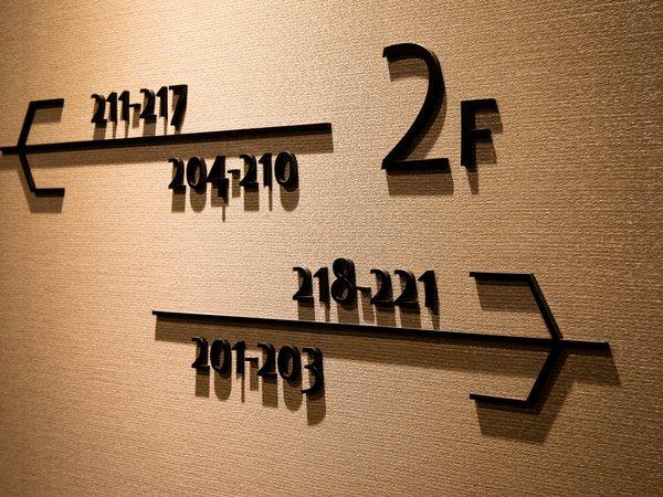 【館内設備】2F案内板