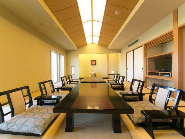 【和室(67㎡)】新幹線が見える当客室は、お子様連れのご家族にもお勧めです。