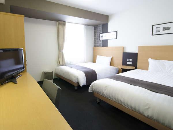 ◆ツインスタンダード◆広さ21平米◆ベッド幅123cm×2台