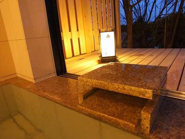 【展望浴場6F】浴槽ー行灯