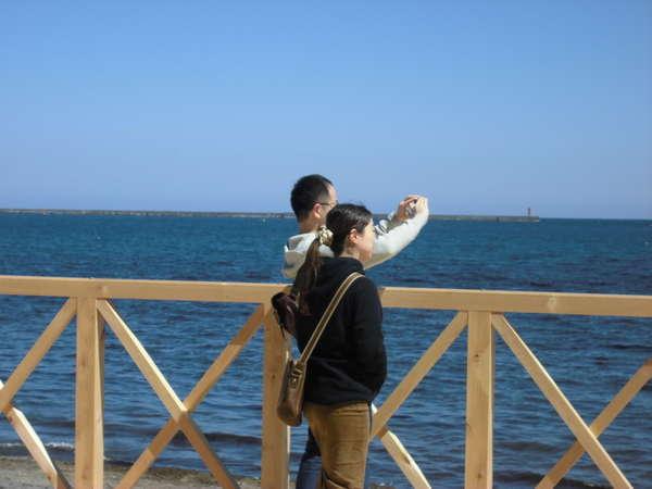 令和元年初日、海と親しむ広大なプロムナードデッキ「天海テラス」誕生