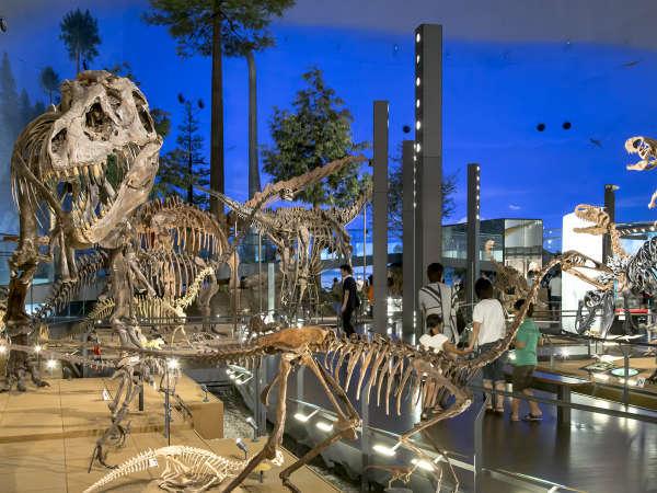 日本最大級!福井県立恐竜博物館★恐竜の世界へ♪お子様には嬉しい特典付きプラン(*´∀`*)