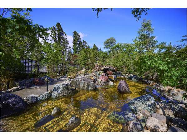 小谷流温泉 森の湯 露天風呂