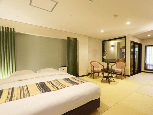 【花心楼:碧】ナチュラル感とモダンな雰囲気を兼ね備えた、和洋折衷のお部屋です。