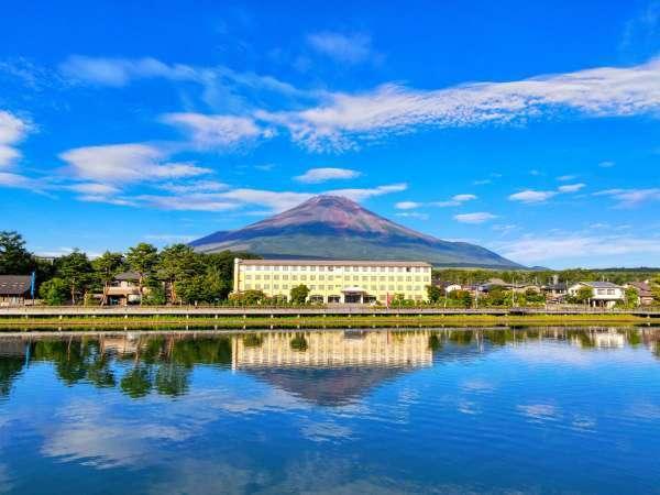 【山中湖富士松温泉 富士松園ホテル】全室【富士山】or【山中湖】ビュー!富士山を望む溶岩風呂が魅力♪