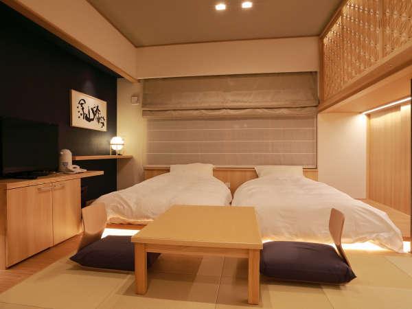 *お部屋一例/ローベッド&ロフト付きのお部屋は2名様がおすすめ