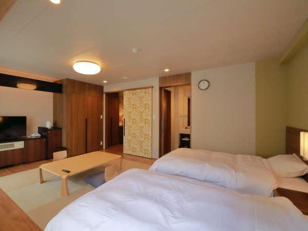 *お部屋一例/空間を広くデザインされた和洋室は、カップル・ご夫婦に人気