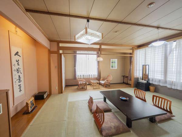 和室をメインにコネクティングルームやツインルームもございます(写真:【和室】12畳/6名迄/禁煙)