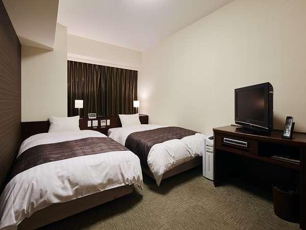 ◆コンフォートツインルーム (22平米 ベッド幅 110×205センチx2台 エキストラベッド可)