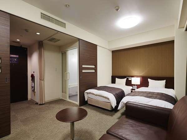 ◆禁煙ユニバーサルルーム (33平米 ベッド幅100×205センチ エキストラベッド準備可)