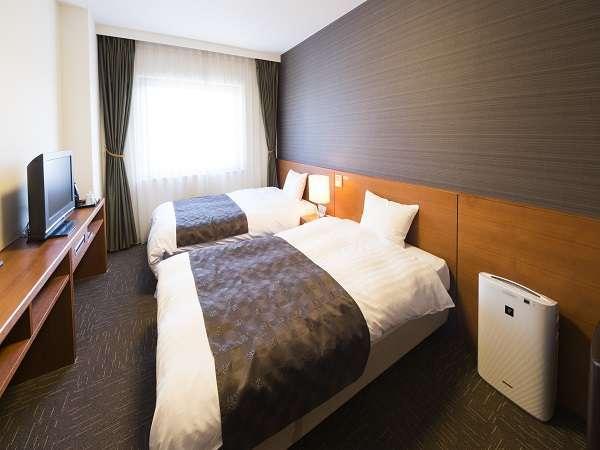 ◆ツインベッドルーム 16㎡ ベッドサイズ1400×2050
