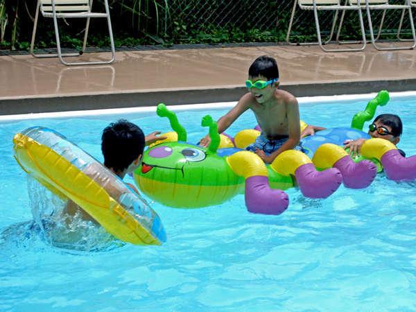 【ホテル専用プール】お子様も安心してご利用いただけます♪(ご宿泊者無料・夏期のみ)