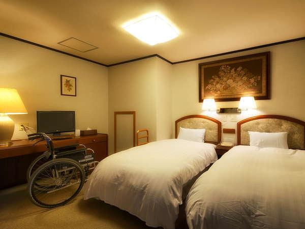 ■檜風呂付和洋室-洋室