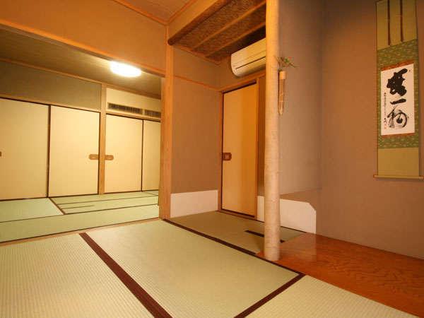 和室(訳ありのお部屋)以前は茶室として利用していました。