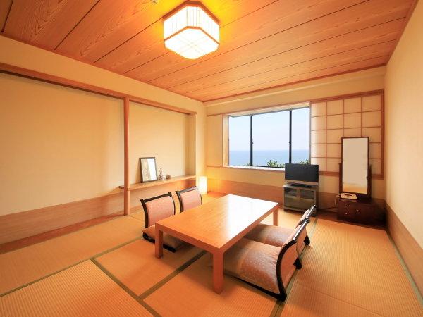 当館1室だけの最上階和洋室。