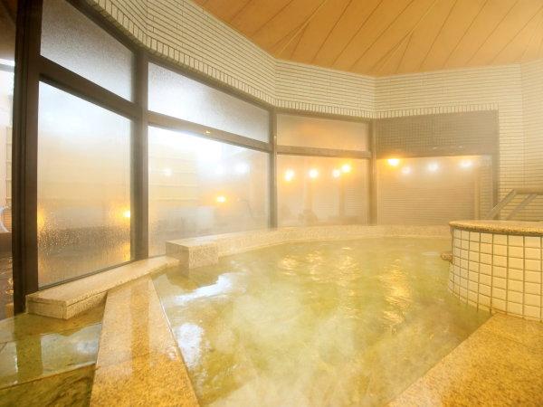 【温泉大浴場】大洗温泉を運び入れた大浴場。