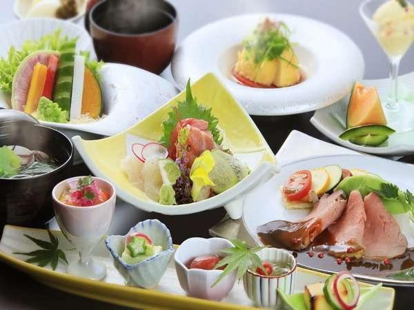 茨城の旬を味わう創作会席※写真はイメージです。