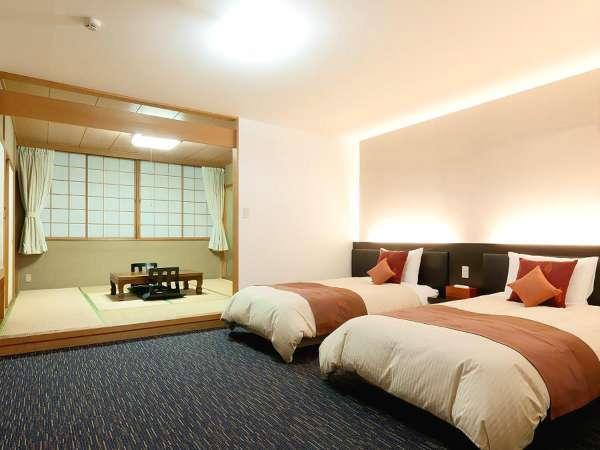 【和洋室】35㎡と広く、幅広い年代の方にご利用いただけるお部屋。ご家族でのご宿泊におすすめです。