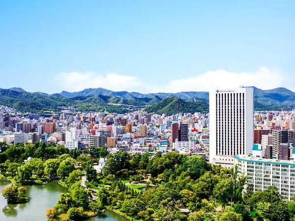日本都市公園に認定された中島公園が隣接