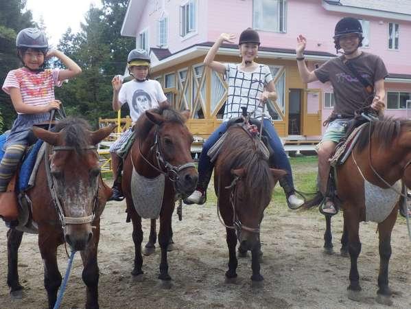 乗馬の様子1