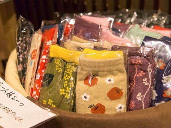 四季彩:四季彩ご宿泊のお客様は足袋を記念にのお持ち帰り下さい♪
