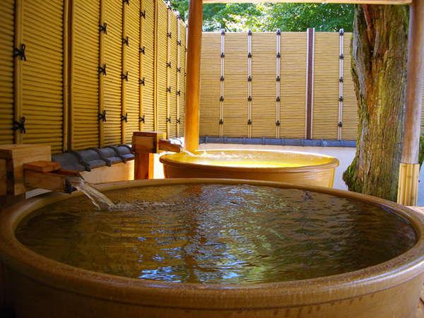 つぼ風呂で独り占めちょっと熱めで気分爽快!