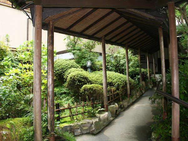 *回廊。自然を眺めながらぶらッと歩くのもいいですね♪