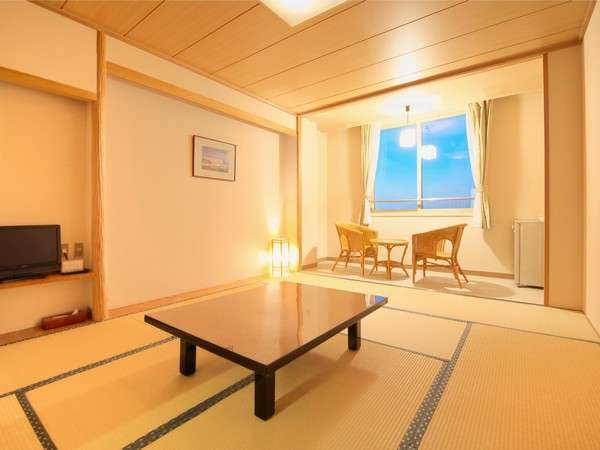 【和室イメージ】ウォシュレット完備木の温もりと畳の香りにつつまれた広々とした客室