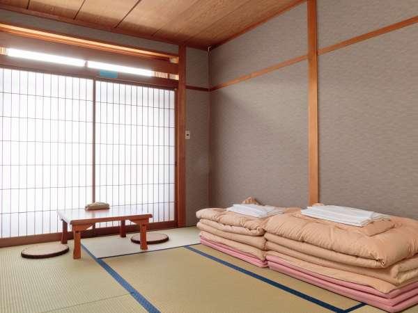 和【素泊まり】和室6畳(共用バス、トイレ)