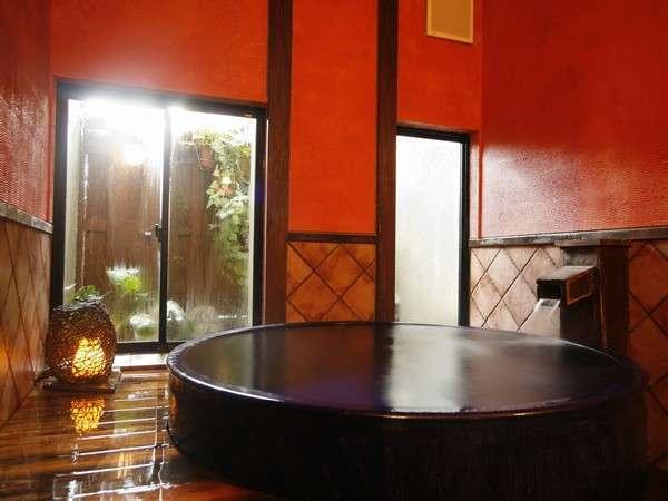 【陶の湯】当館一番人気のお風呂♪♪お連れ様とご一緒に・・ごゆっくりどうぞ☆