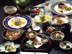 スタンダードな和食会席料理 三重の四季をどうぞ。(一例)