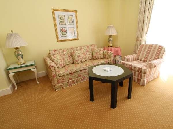 眺望が良くゆとりのある客室。3名様まで宿泊可能なデラックスツインルーム