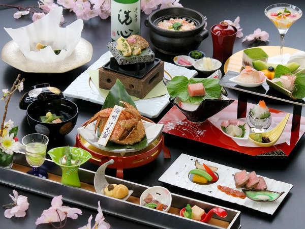 4/5~「優山」海明け毛蟹や白えびを楽しむ料理長推奨コース