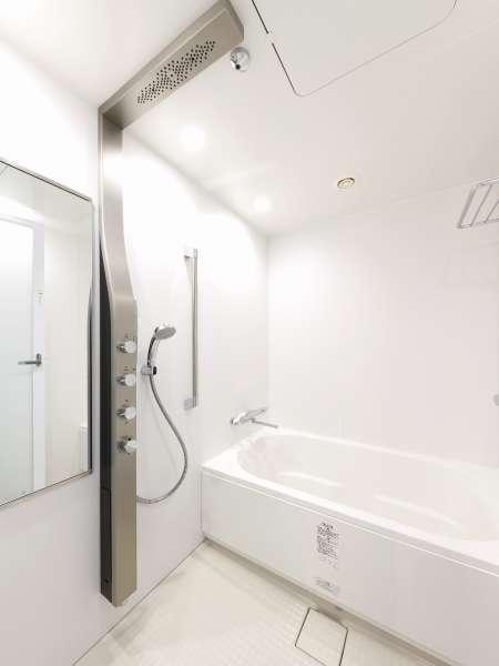 プレミアルーム浴室&高性能シャワー♪