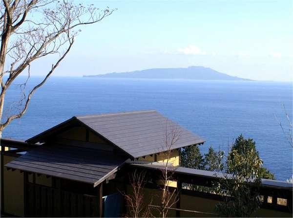 当館でしか味わえない、大島を臨む絶景をご堪能下さい。