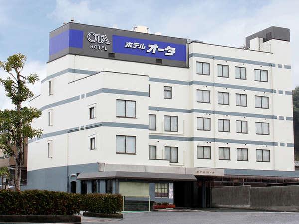 大洲駅より徒歩5分のアクセス抜群な駅近ホテルです。