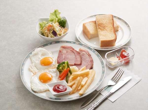 ハムエッグトースト 洋朝食イメージ
