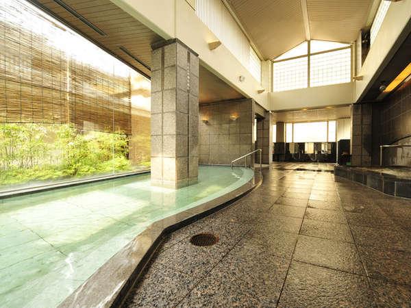 *大浴場~雁の湯~神経痛やリウマチに効果があり、肌もつややかになります。