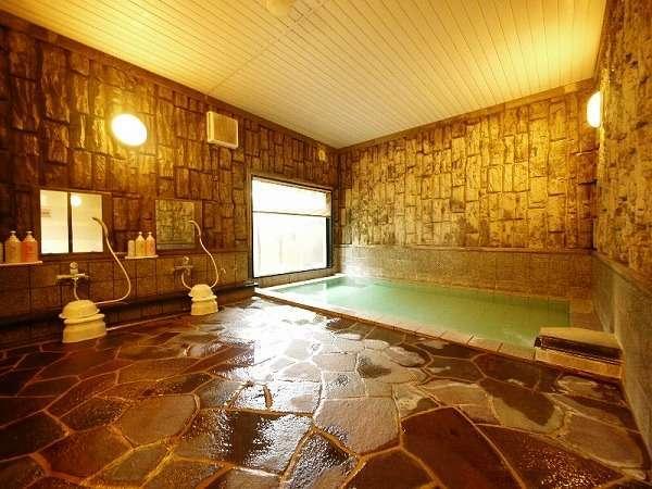 ◆活性石温泉の大浴場◆足を伸ばしてゆ~ったりと。、夜は2時まで、朝は5時からご利用いただけます。