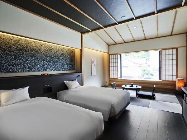 ベッドを2台ご準備したゆったりとしたお部屋です。