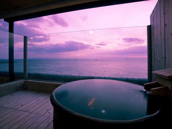 特別室Aタイプ    露天風呂