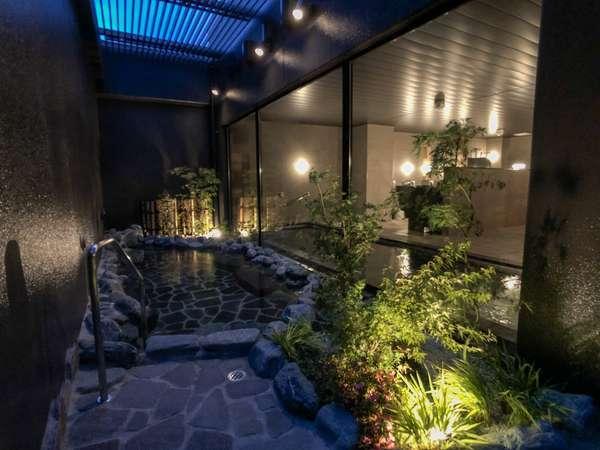 【大浴場】男性大浴場には露天風呂もございます!