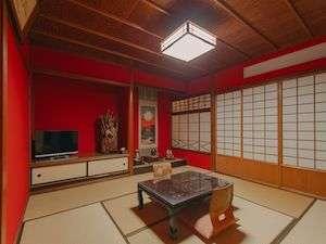 【金澤町家~英~和室】 歴史が薫るたたずまいはそのままにお泊りいただけます。