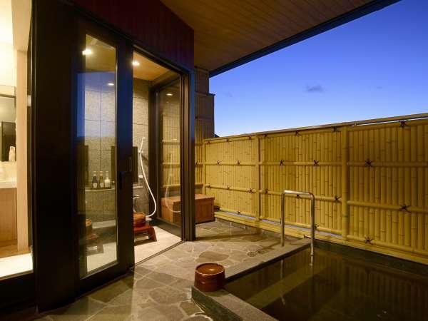 全室個室露天風呂完備。