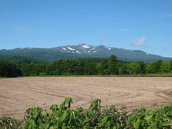 リフォレは積丹岳を望む農業地帯の中央にあります。
