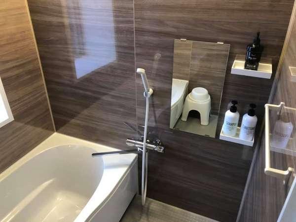 客室お風呂一例