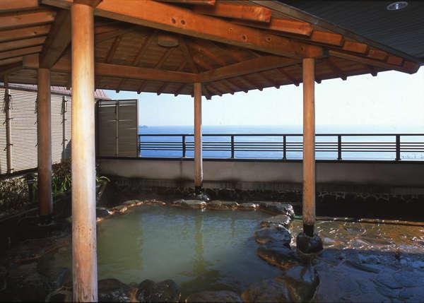 大浴場「弘法の湯」ご婦人湯(露天風呂)